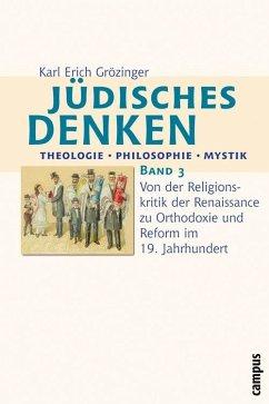 Jüdisches Denken: Theologie - Philosophie - Mystik (eBook, PDF) - Grözinger, Karl Erich