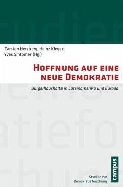 Hoffnung auf eine neue Demokratie (eBook, PDF)