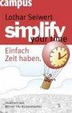 simplify your time (eBook, PDF)