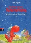 Schulfest auf dem Feuerfelsen / Die Abenteuer des kleinen Drachen Kokosnuss Bd.5 (eBook, ePUB)