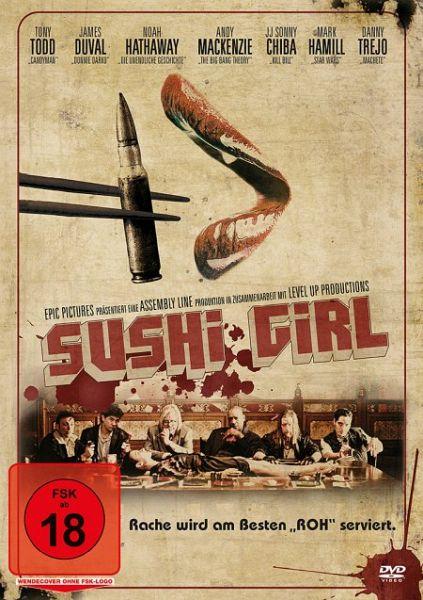 sushi girl film auf dvd. Black Bedroom Furniture Sets. Home Design Ideas