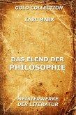 Das Elend der Philosophie (eBook, ePUB)