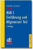 BGB I, Einführung und Allgemeiner Teil