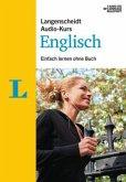 Langenscheidt Audio-Kurs Englisch, 4 Audio-CDs + MP3-Download + Begleitheft