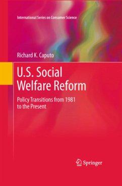 U.S. Social Welfare Reform - Caputo, Richard K.