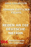 Reden an die deutsche Nation (eBook, ePUB)