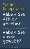 Haben Sie Hitler gesehen? Haben Sie davon gewußt? (eBook, ePUB)