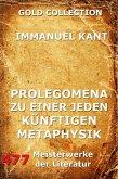 Prolegomena zu einer jeden künftigen Metaphysik (eBook, ePUB)