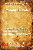 Metaphysische Anfangsgründe der Naturwissenschaft (eBook, ePUB)