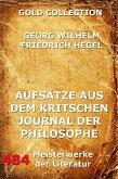 Aufsätze aus dem kritischen Journal der Philosophie (eBook, ePUB)