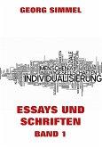 Essays und Schriften, Band 1 (eBook, ePUB)