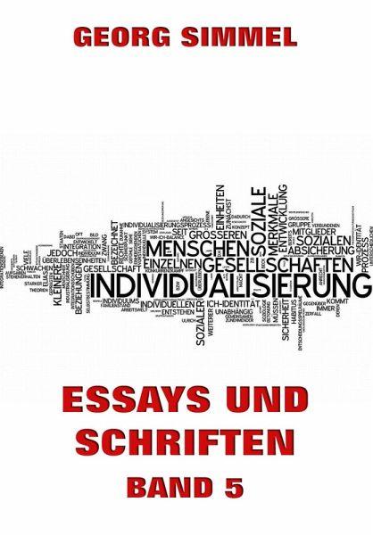 simmel essays Georg simmel,  zur psychologie der frauen / zur psychologie des geldes - epub zwei essays georg simmel 0 €49 format numérique télécharger.