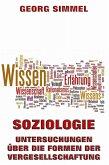 Soziologie - Untersuchungen über die Formen der Vergesellschaftung (eBook, ePUB)