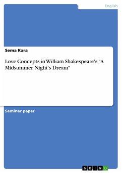 Love Concepts in William Shakespeare's