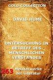 Untersuchung in Betreff des menschlichen Verstandes (eBook, ePUB)