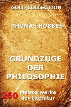 Grundzüge der Philosophie (eBook, ePUB) - Hobbes, Thomas
