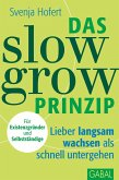 Das Slow-Grow-Prinzip (eBook, PDF)