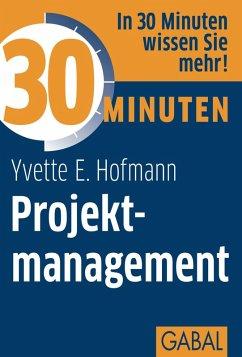 30 Minuten Projektmanagement (eBook, PDF) - Hofmann, Yvette E.