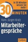 30 Minuten Mitarbeitergespräche (eBook, PDF)