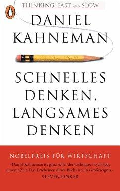 Schnelles Denken, langsames Denken (eBook, ePUB) - Kahneman, Daniel