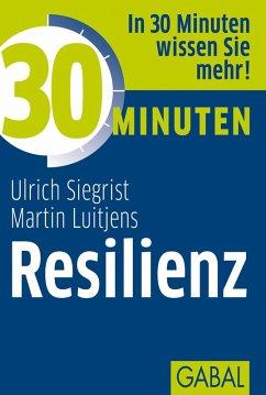 30 Minuten Resilienz (eBook, ePUB) - Siegrist, Ulrich; Luitjens, Martin