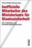 Inoffizielle Mitarbeiter des Ministeriums für Staatssicherheit (eBook, PDF)