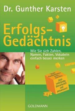 Erfolgs-Gedächtnis (eBook, PDF) - Karsten, Gunther