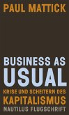 Business as usual (eBook, PDF)