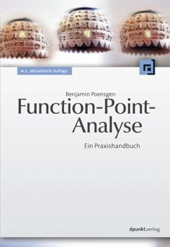 Function-Point-Analyse (eBook, PDF) - Poensgen, Benjamin