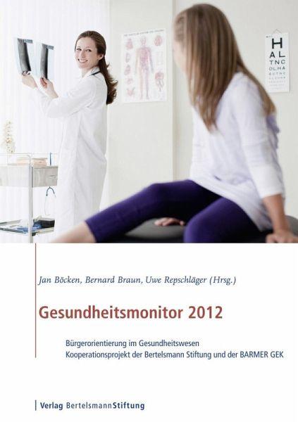 gesundheitsmonitor 2012 ebook pdf portofrei bei b. Black Bedroom Furniture Sets. Home Design Ideas
