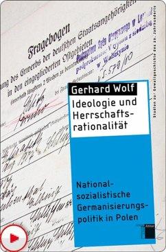 Ideologie und Herrschaftsrationalität (eBook, ePUB) - Wolf, Gerhard