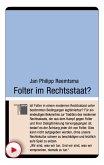 Folter im Rechtsstaat? (eBook, ePUB)