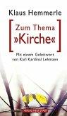 """Zum Thema """"Kirche"""" (eBook, ePUB)"""