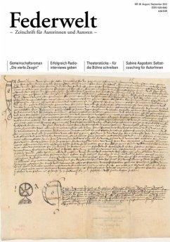 Federwelt 95, 04-2012 (eBook, PDF) - Koschyk, Heike; Leue, Alf; Uschmann, Oliver; Buchholz, Goetz; Heinold, Wolfgang Ehrhardt; Rossié, Michael; Seul, Shirley Michaela