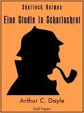 Sherlock Holmes - Eine Studie in Scharlachrot (eBook, ePUB)