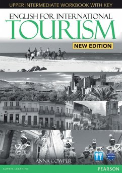 English for International Tourism New Edition Upper Intermediate Workbook (with Key) and Audio CD - Cowper, Anna