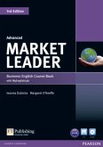 Market Leader Advanced Coursebook (with DVD-ROM incl. Class Audio) & MyLab