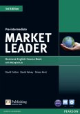 Market Leader 3rd Edition Pre-Intermediate Coursebook with DVD-ROM and MyEnglishLab Student online access code Pack, m. / Market Leader Pre-Intermediate 3rd edition