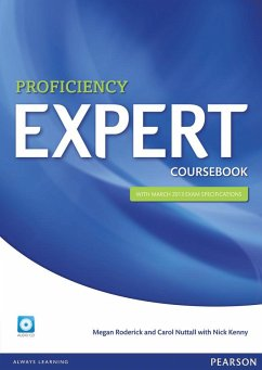 Expert Proficiency Coursebook (with Audio CD) - Kenny, Nick; Roderick, Megan; Nuttall, Carol
