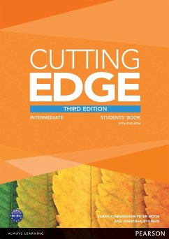Cutting Edge Intermediate Students' Book with DVD - Crace, Araminta; Bygrave, Jonathan; Moor, Peter; Cunningham, Sarah