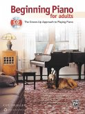 Beginning Piano for Adults, w. Audio-CD