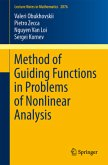 Method of Guiding Functions in Problems of Nonlinear Analysis