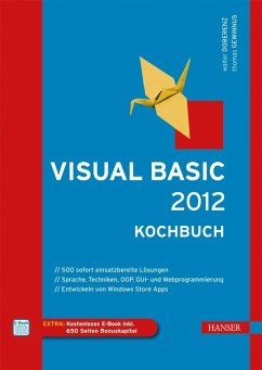 Visual Basic 2012 - Kochbuch (eBook, PDF)