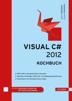 Visual C# 2012 - Kochbuch (eBook, PDF) - Doberenz, Walter; Gewinnus, Thomas