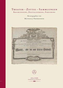 Theater - Zettel - Sammlungen