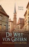 Die Welt von Gestern. Erinnerungen eines Europäers (eBook, ePUB)