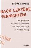 """""""Nach Lektüre vernichten!"""" (eBook, ePUB)"""