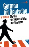 German für Deutsche (eBook, ePUB)