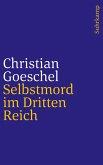 Selbstmord im Dritten Reich (eBook, ePUB)