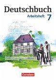 Deutschbuch 7. Schuljahr. Arbeitsheft mit Lösungen. Gymnasium Östliche Bundesländer und Berlin